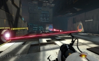 Portal 2 screenshot - Thermal Discouragement Beam