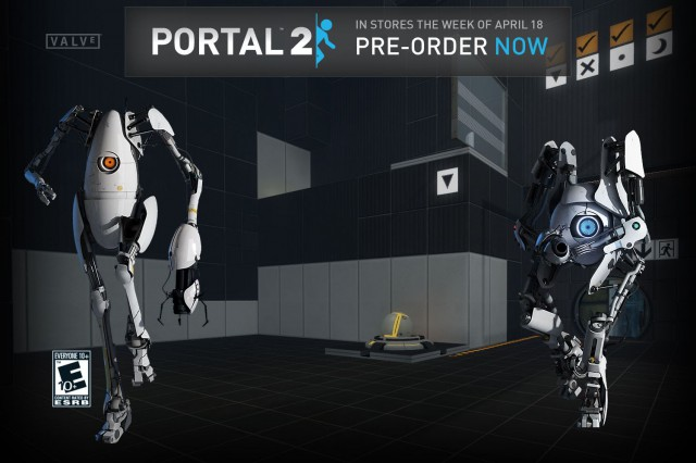 Portal 2 YouTube pozadí