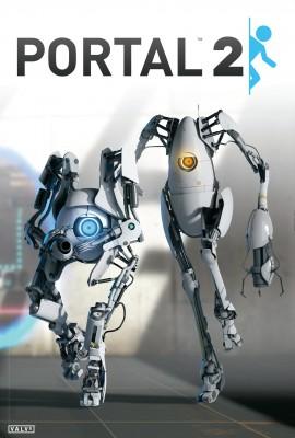 Portal 2 coop plakát