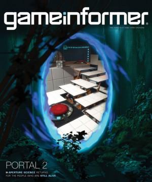 GameInformer s obálkou Portal 2