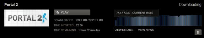 Portal 2 pre-load